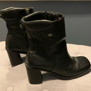 Harley Davidson leather boots size 8